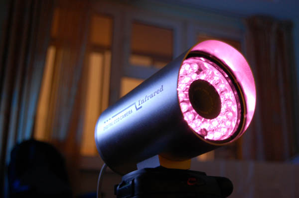 Ночное видеонаблюдение ИК-подсветка IR CCTV видеонаблюдение ночью видеонаблюдение Ростов установка монтаж